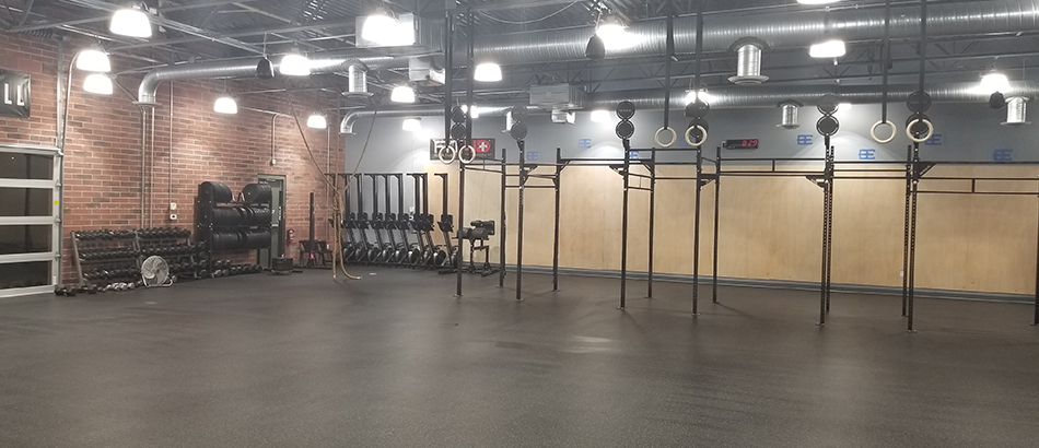 Inside of Gym at Body Evolution