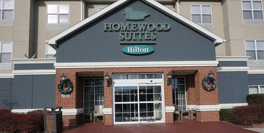 Homewood Suites entrance