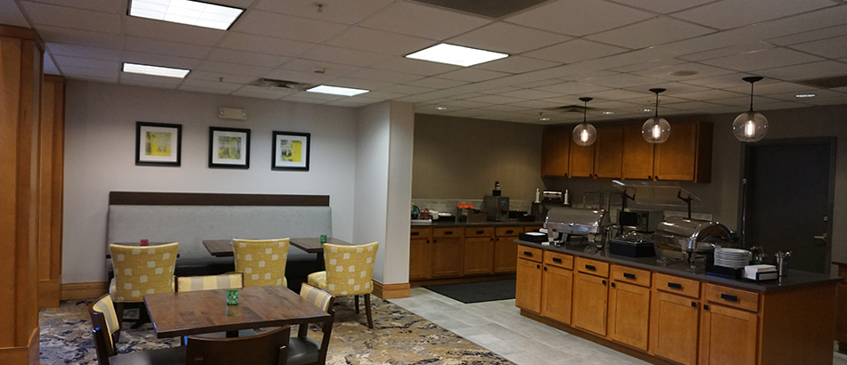 Food bar at Homewood suites