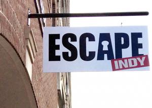 Escape Indy Sign