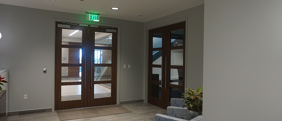 Entrance to Irwin Rose & Company