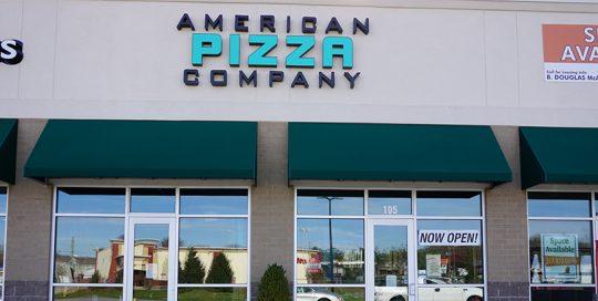 American Pizza exterior