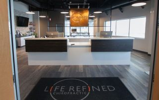 Life Refined Chiropractic entrance