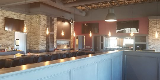 Interior shot at Pearl Street Pizzeria & Pub