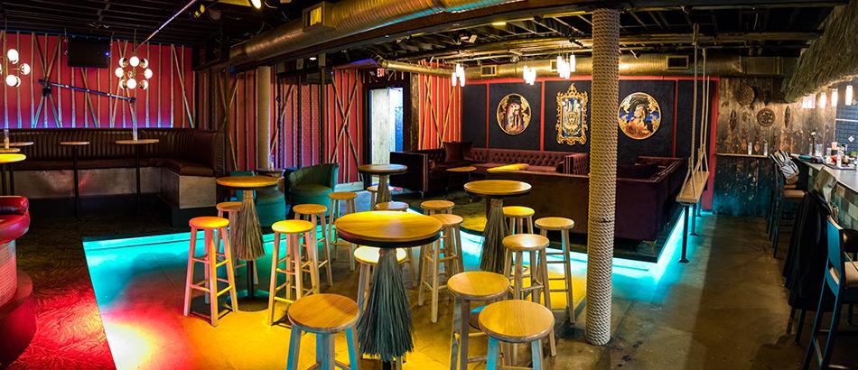 TikiTiki Lounge Interior