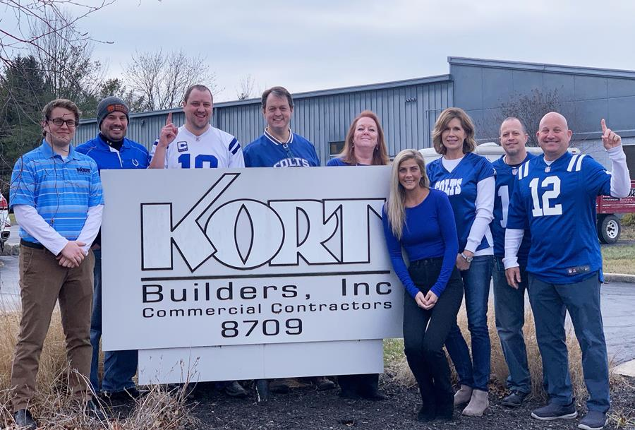Kort Builders team Colts picture