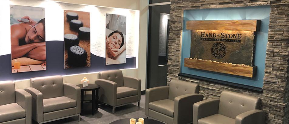 Hand & Stone - Interior Lobby