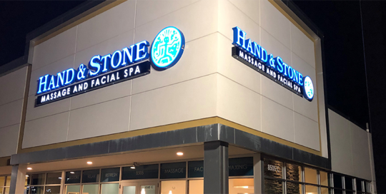Hand & Stone - Exterior